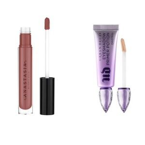 ABH & UD Combo: Lip Gloss + Primer Potion